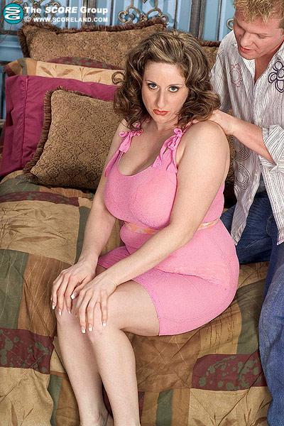 Guy sucking on boobs