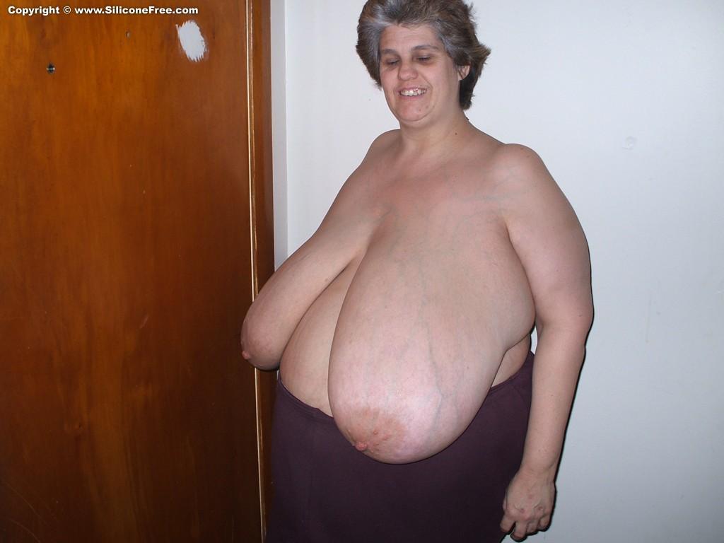 Huge natural titties on the anal slut