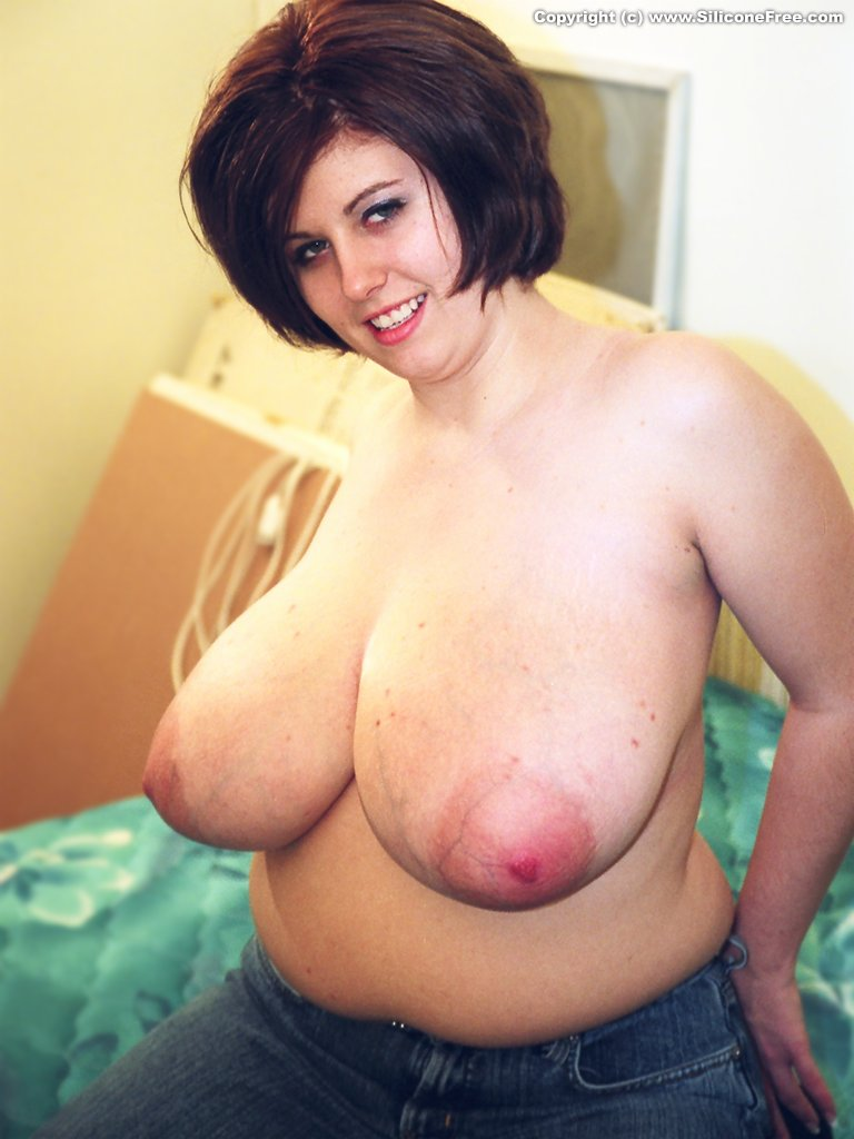 Free natural big breast