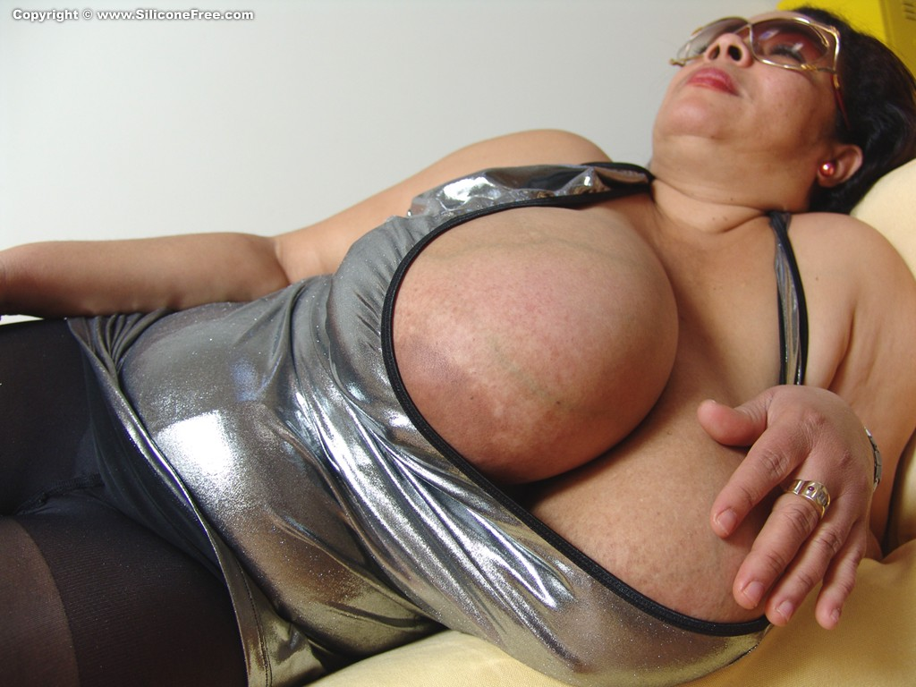 Milf with huge boobs opens a candy store