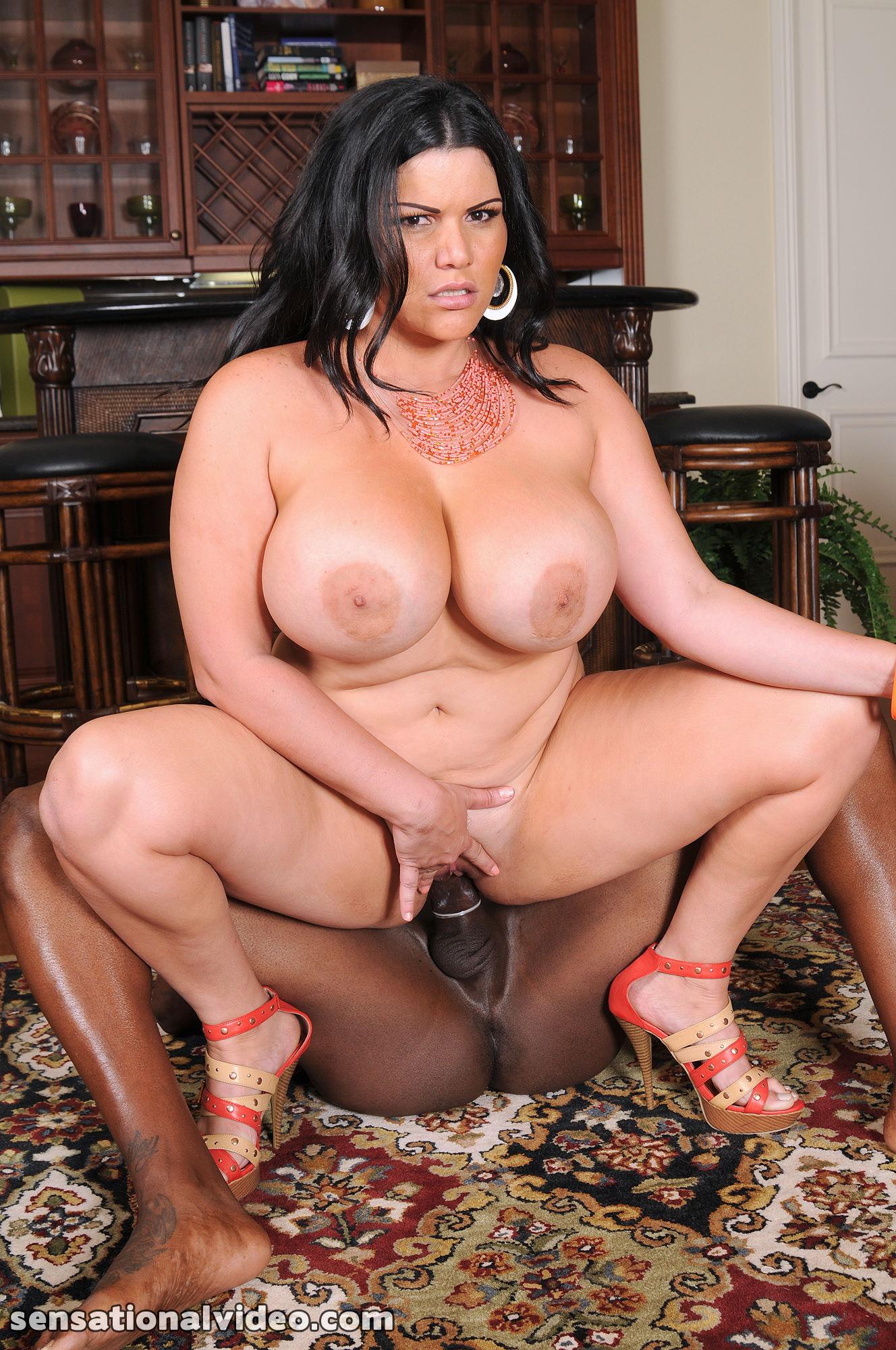 BBWs Angelina Castro & Samantha 38G Fuck A Big Cock! Porn Films
