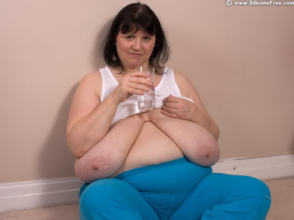 Girl showing big tits
