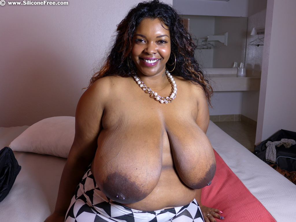 Massive Natural Black Tits