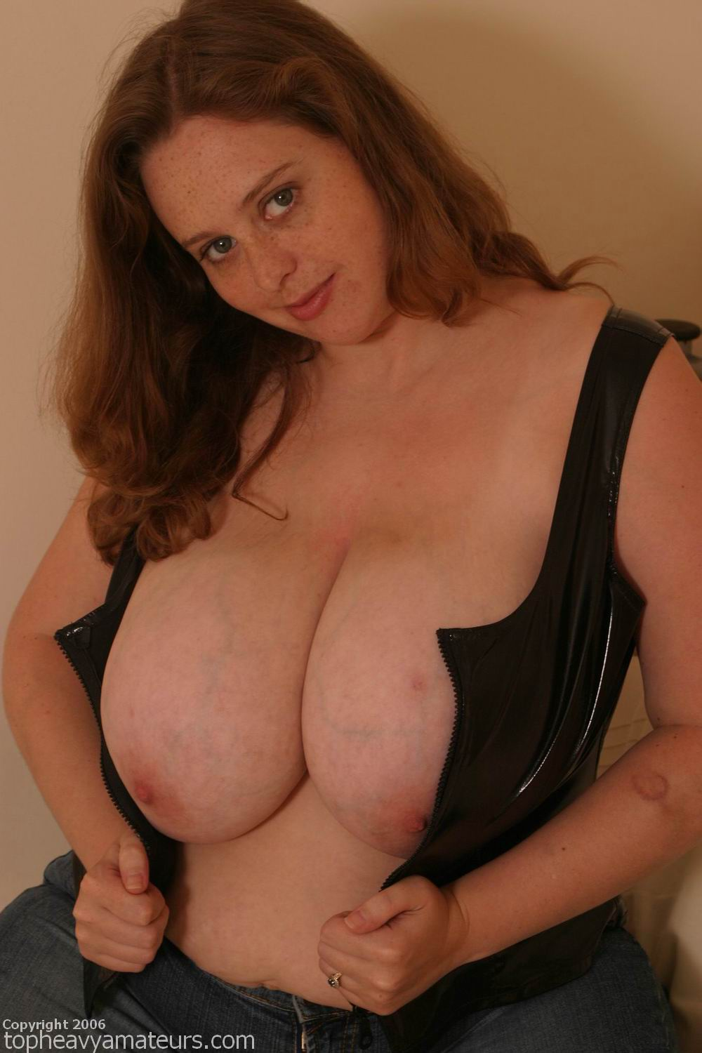 from Vaughn top heavy amateur julie big boobs