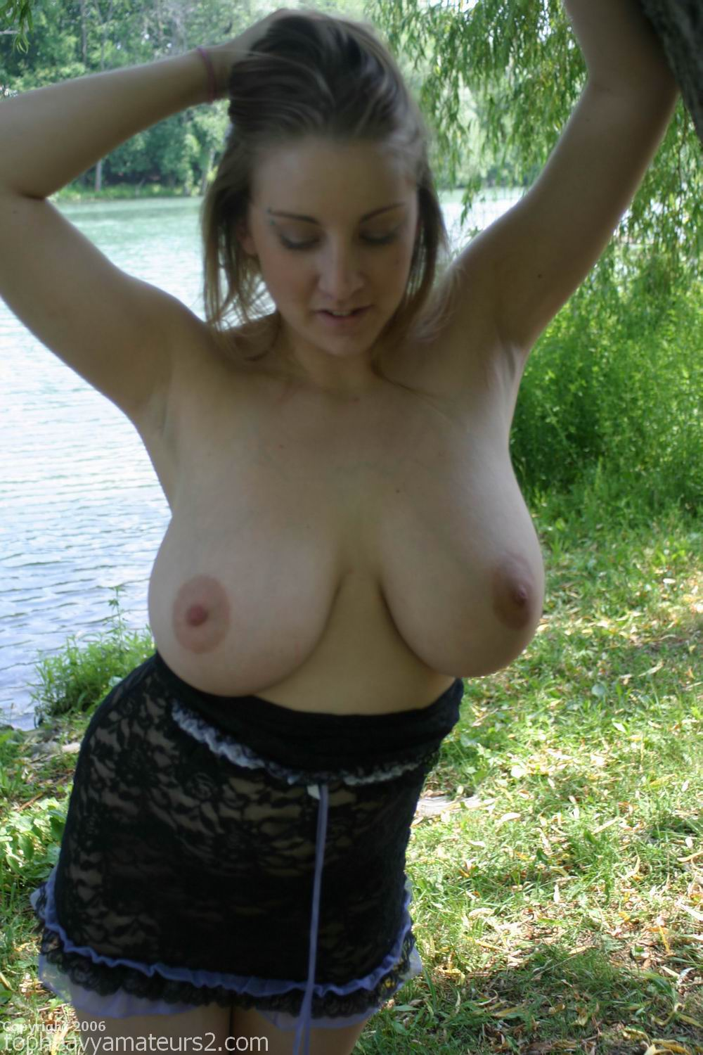 Big tits that look so good clothed and exposed 6