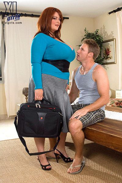 толстушка с огромными дойками фото